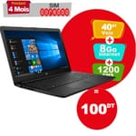 PC Portable HP Notebook 15-dw2011nk i3 10Gén 12Go 1To Noir (2S529EA-12G)