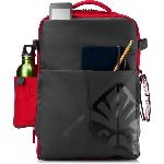 """HP OMEN sacoche d'ordinateurs portables 43,9 cm (17.3"""") Sac à dos Noir, Rouge"""