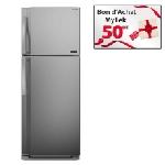 Réfrigérateur TORNADO 48T-INOX 389 Litres NoFrost - Inox