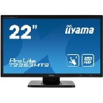 """iiyama ProLite T2253MTS-B1 moniteur à écran tactile 54,6 cm (21.5"""") 1920 x 1080 pixels double pression Dessus de table Noir"""