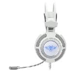 Spirit of Gamer Elite-H70 Casque Arceau Blanc