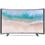 "Téléviseur MAXWELL LED 40"" Curved HD - Gris"