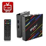 Box Android H96 Max plus avec un abonnement IPTV 12 mois + 3 mois offerts