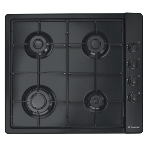 Plaque de cuisson CANDY 4 feux (CLG64SPN) - Noir
