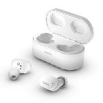 Belkin AUC001BTWH écouteur/casque Écouteurs Ecouteurs Micro-USB Bluetooth Blanc