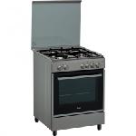 Cuisinière à gaz WHIRLPOOL 6ème Sens 60cm (ACMT6310/IX/2) - Inox