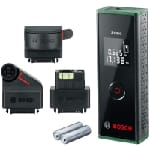 Bosch Zamo Niveau à point 20 m 635 nm (< 1 mW)