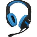 Micro Casque Gaming KONIX PS4 - Noir & Bleu