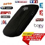 Récepteur SAMSAT 9090 HD MINI 1 an Sharing + 15 mois IPTV