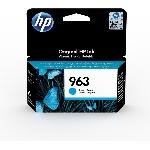 HP 963 cartouche d'encre 1 pièce(s) Original Rendement standard Cyan