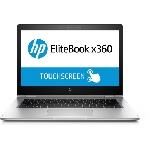 """HP EliteBook x360 1030 G2 DDR4-SDRAM Hybride (2-en-1) 33,8 cm (13.3"""") 1920 x 1080 pixels Écran tactile Intel® Core™ i5 de 7e génération 8 Go 256 Go SSD Wi-Fi 5 (802.11ac) Windows 10 Pro Argent"""