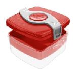 Maped 870103 gamelle Boîte de rangement alimentaire 1,4 L Rouge