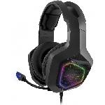 Casque Micro Spirit Of Gamer H50 Black Edition RGB /Noir