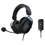 Casque Gaming HyperX Cloud Alpha S Bleu – HX-HSCAS-BL/WW