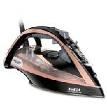 Tefal Ultimate Pure FV9845 fer à repasser Fer à repasser à sec ou à vapeur Semelle Durilium autonettoyante 3100 W Noir, Cuivre