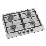 Plaque de cuisson Franco 4 feux 60 cm / Inox