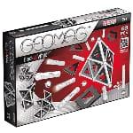 Geomag Panels Black&White 68 pcs jeu à aimant néodyme 68 pièce(s) Multicolore