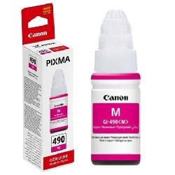 Bouteille d'encre Canon GI-490M - Magenta 70ml