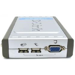 D-Link DKVM-4U commutateur écran, clavier et souris Gris, Argent