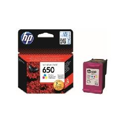Cartouche Jet d'encre Original HP 650 - Couleurs