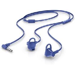 HP 150 Casque Ecouteurs Connecteur de 3,5 mm Bleu