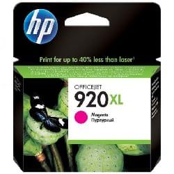 Cartouche jet d'encre HP original CD973AE pour HP 920XL - Magenta