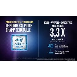 "Acer Predator Helios 300 PH317-52-75DB DDR4-SDRAM Ordinateur portable 43,9 cm (17.3"") 1920 x 1080 pixels Intel® Core™ i7 de 8e génération 8 Go 1128 Go HDD+SSD NVIDIA® GeForce® GTX 1050 Ti Wi-Fi 5 (802.11ac) Windows 10 Home Noir, Rouge"
