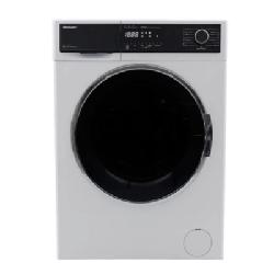 Machine à laver SHARP frontale 8 Kg - Blanc (ES-FP814CX-W)