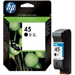 Cartouche d'encre HP 45A Noir