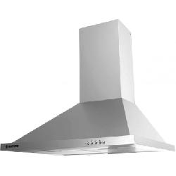 Hotte aspirante pyramidale Hoover 60cm - Inox (HECH616/4X)