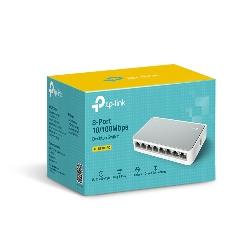 TP-LINK TL-SF1008D commutateur réseau Non-géré Fast Ethernet (10/100) Blanc