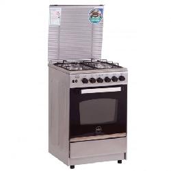 Cuisinière à Gaz AZUR AZ5555S 55cm - Silver