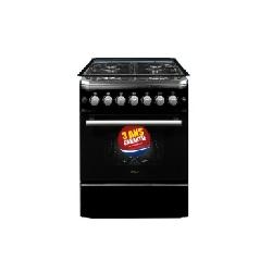 Orient cuisiniére avec tourne broche noire 60-60TN