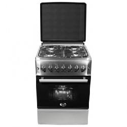 Cuisinière à gaz ORIENT avec Tourne broche (OC-50-60SIT) - Inox