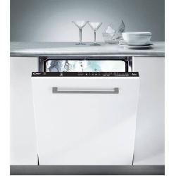 Lave Vaisselle Encastrable Candy  13 Couverts 60cm - Blanc (CDI 1LS38S-80 T)