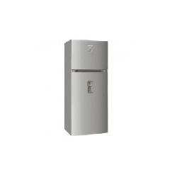 Réfrigérateur Brandt NoFrost 480L avec distributeur d'eau et afficheur (BD4712NWX) - Inox