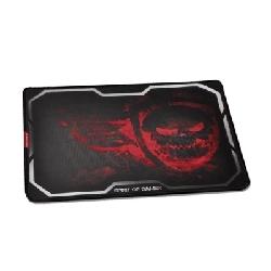 Spirit of Gamer Smokey Skull Tapis de souris de jeu Noir, Rouge