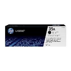 Toner Original HP LaserJet CB435A Pour HP 35A - Noir