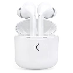 Ksix BXTW02 écouteur/casque Ecouteurs Bluetooth Blanc