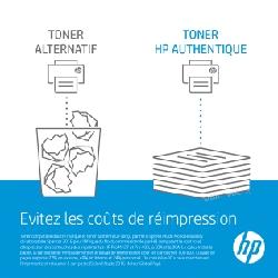 Toner d'origine HP LaserJet CF403A pour HP 201A - Magenta