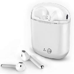 Ecouteur Sans Fil Bluetooth I7S-TWS MINI Blanc