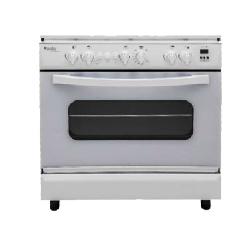 Cuisinière à gaz CONDOR 4 Feux 60Cm (F4500W)-  Blanc