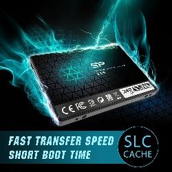 "Silicon Power Slim S55 2.5"" 240 Go Série ATA III TLC"