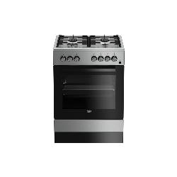 Beko FSE62110DX four et cuisinière Gaz Acier inoxydable A