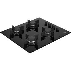 Beko HILG 64120 S plaque Noir Intégré (placement) Gaz 4 zone(s)