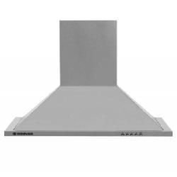 Hotte aspirante pyramidale Hoover 90cm - Inox (HECH916/4X)