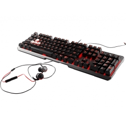 MSI Vigor GK60 clavier USB AZERTY Français Noir