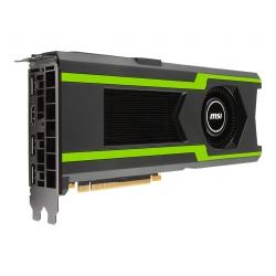 MSI 912-V360-033 carte graphique NVIDIA GeForce GTX 1080 Ti 11 Go GDDR5X