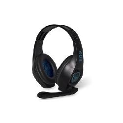 Spirit of Gamer ELITE-H5 Casque Arceau Connecteur de 3,5 mm Noir, Bleu
