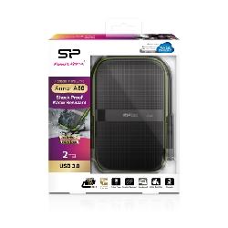 Silicon Power Armor A60 disque dur externe 2000 Go Noir